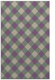 rug #639869 |  purple check rug