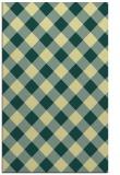 rug #639893 |  yellow check rug