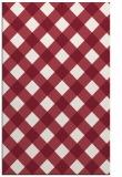 rug #639901 |  pink check rug