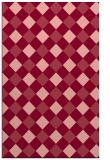 rug #639905 |  pink check rug