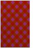 rug #639941 |  red geometry rug