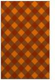 rug #639945 |  red-orange popular rug