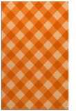 rug #639949 |  red-orange check rug