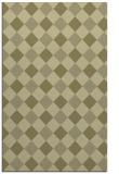 rug #640013 |  light-green check rug