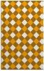 rug #640025 |  light-orange check rug
