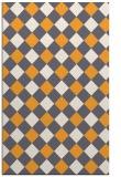 rug #640037 |  white check rug