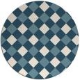 rug #640065 | round check rug
