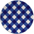 rug #640147   round check rug