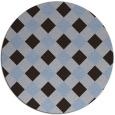 rug #640155 | round check rug