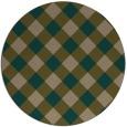 rug #640163 | round check rug
