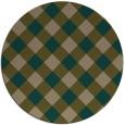 rug #640164   round check rug
