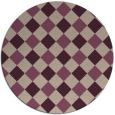 rug #640203 | round check rug