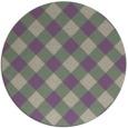 rug #640222 | round check rug