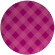 rug #640249 | round pink rug