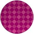 rug #640251 | round check rug