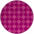 rug #640252 | round check rug