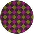 rug #640272 | round check rug