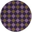 rug #640275   round check rug