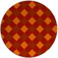 rug #640288   round check rug
