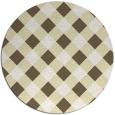 rug #640335   round check rug