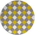 rug #640342 | round check rug
