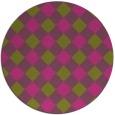 rug #640369 | round pink rug