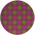 rug #640370 | round check rug
