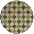 rug #640373 | round check rug