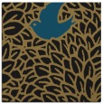 rug #640765 | square brown graphic rug