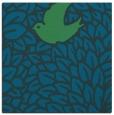 rug #640825 | square blue animal rug
