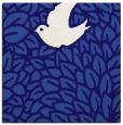 rug #640849   square blue-violet animal rug