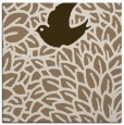 rug #640897 | square beige animal rug