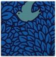 rug #640913 | square blue rug