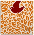 rug #640937   square orange graphic rug