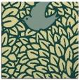 rug #640949 | square yellow animal rug