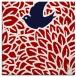 rug #640985 | square red animal rug