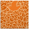 rug #641005 | square red-orange animal rug