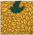 rug #641049 | square light-orange graphic rug