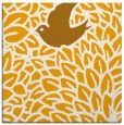rug #641081 | square light-orange animal rug