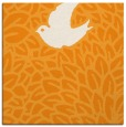 rug #641089 | square light-orange animal rug