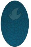 rug #641150   oval animal rug