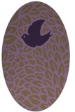 rug #641332 | oval graphic rug