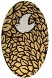 rug #641395   oval animal rug