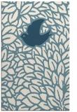 rug #641473 |  blue-green animal rug