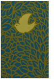 rug #641509 |  green animal rug