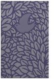 rug #641537 |  blue-violet animal rug