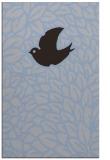 rug #641561    blue-violet animal rug