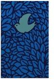 rug #641617 |  blue rug
