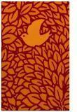 rug #641637 |  red-orange animal rug