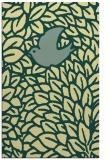 rug #641653 |  blue-green animal rug